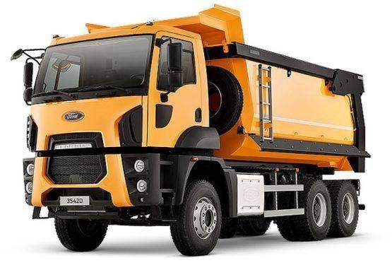 Самосвал FORD Trucks 3542D, фото 2