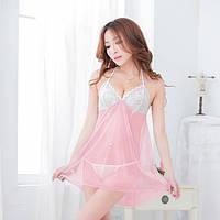 Женский эротический пеньюар №109, розовый цвет №109