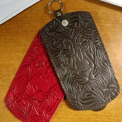 Чохол для ключів шкіряний, фото 2