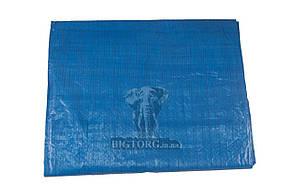Тент Intertool - 4 x 5 м x 65 г/м², синий