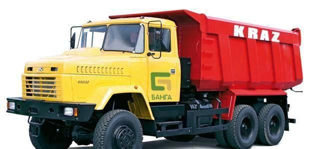 Самосвал КРАЗ 65032-068, фото 2