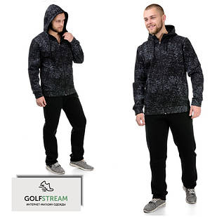 Теплый мужской спортивный костюм 030