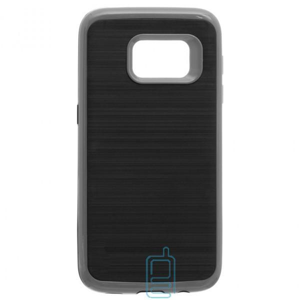 Чехол-накладка Motomo X3 Samsung S7 Edge G935 серый