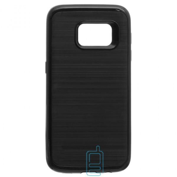 Чехол-накладка Motomo X3 Samsung S7 Edge G935 черный