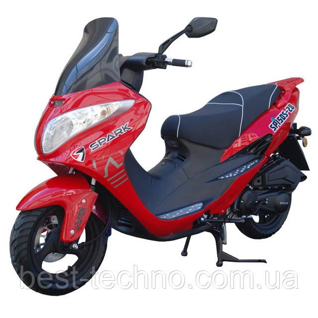 Скутер Spark SP150S-28 красный