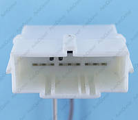 Разъем электрический 18-и контактный (44-19) б/у