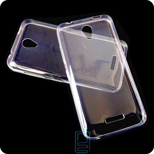 Чехол силиконовый Slim Lenovo A1010 прозрачный