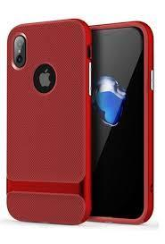 Чехол для iPhone X Rock Royce (Red)