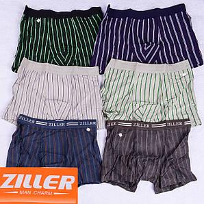 Мужские трусы боксеры  Ziller Z019,Z021-2 L 42-44. В упаковке 6 штук