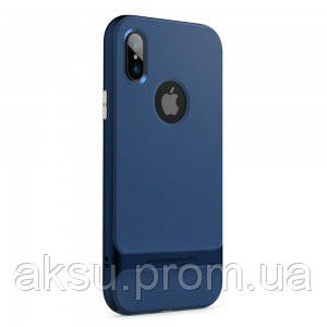 Чехол для iPhone X Rock Royce (Blue)