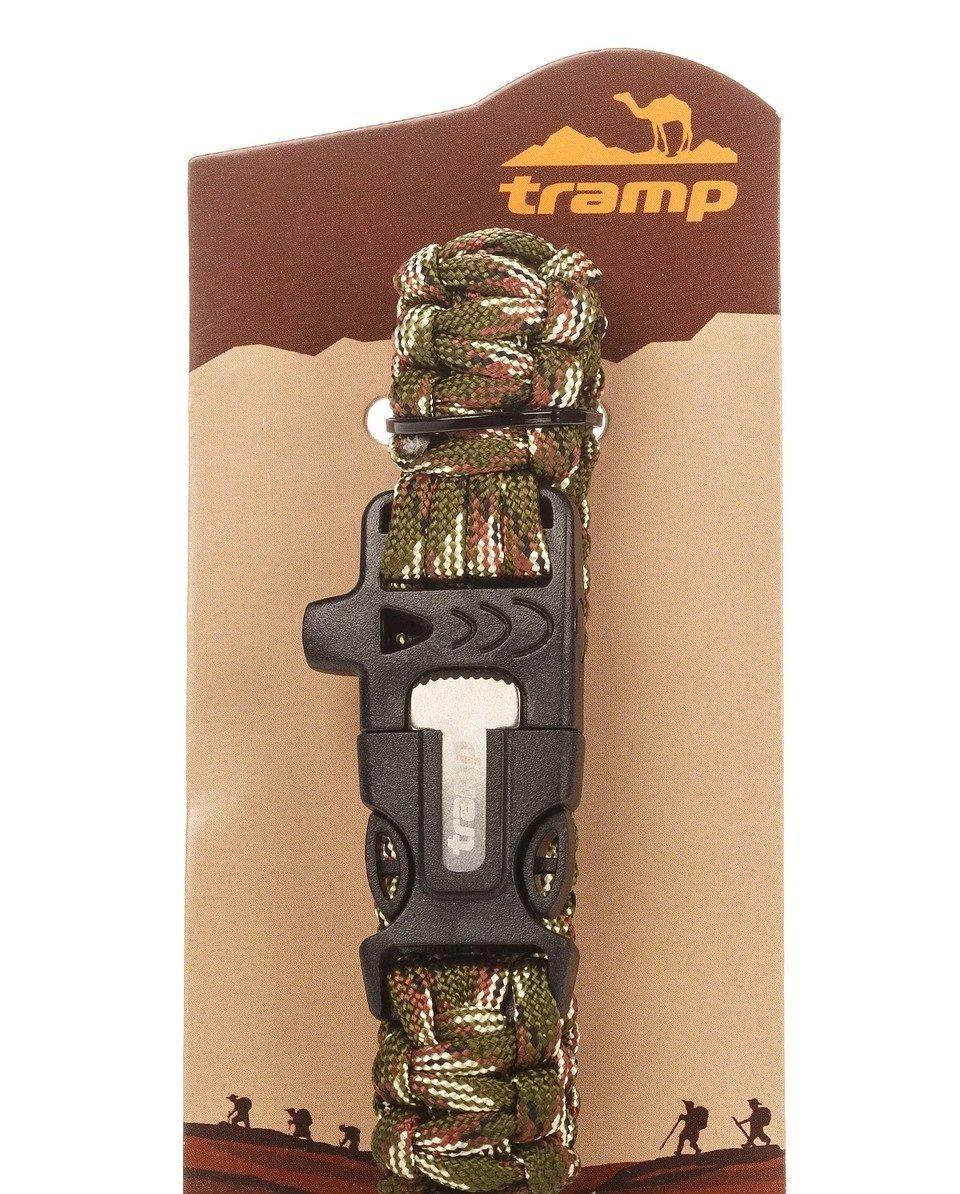 Браслет выживания Tramp Хаки (TRA-232-khaki)