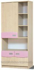 Шкаф книжный Терри  (Світ мебелів) 800х425х1825мм
