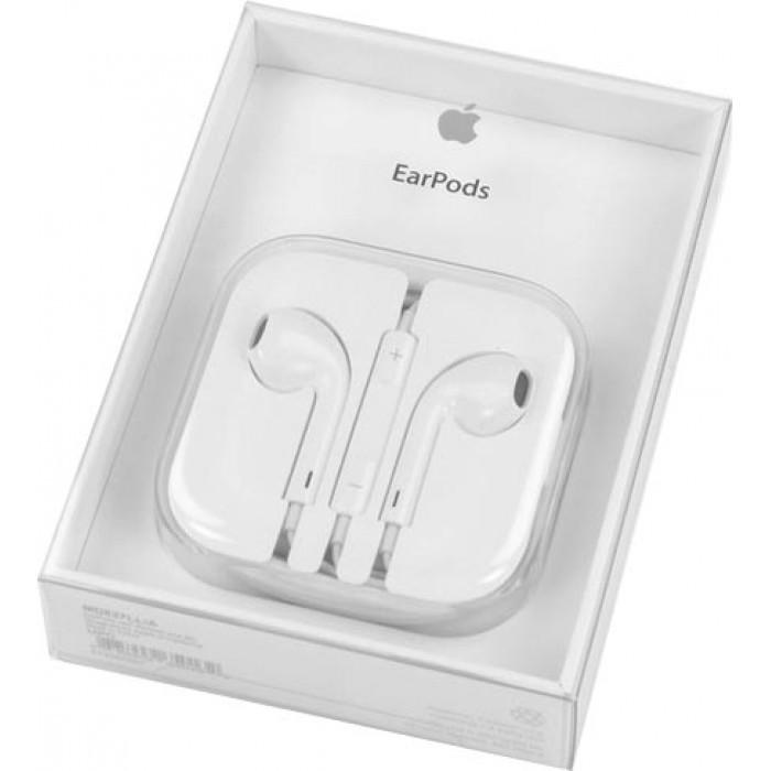 Наушники Apple EarPods+ДУ Retail Box (MD827) для iPhone, iPad, iPod