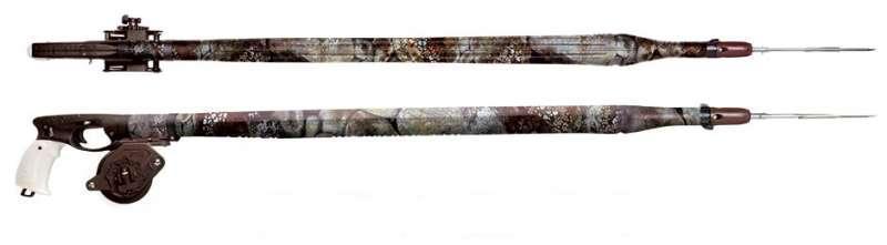 Рушниця-пневмо Omer Airbalate - camouflage 70 см with reel