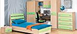 Шкаф книжный Терри  (Світ мебелів) 800х425х1825мм , фото 3