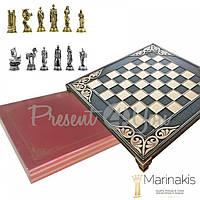 Шахматы «Троя» Marinakis Греция, 28х28 см (086-2205KBR)