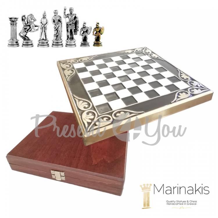 Шахматы «Римляни» Marinakis, 16х16 см (086-1100B)