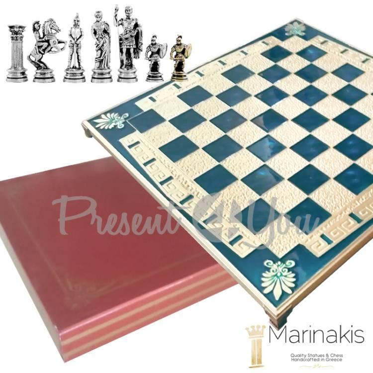 Шахматы «Римляни» Marinakis, 45х45 см