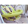 Детское кресло - качалка шезлонг CRL 0005 Grey Planet, фото 4