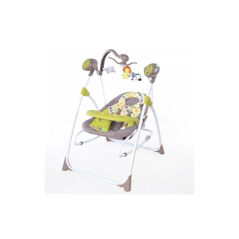 Детское кресло - качалка шезлонг BT-SC-0005 Green