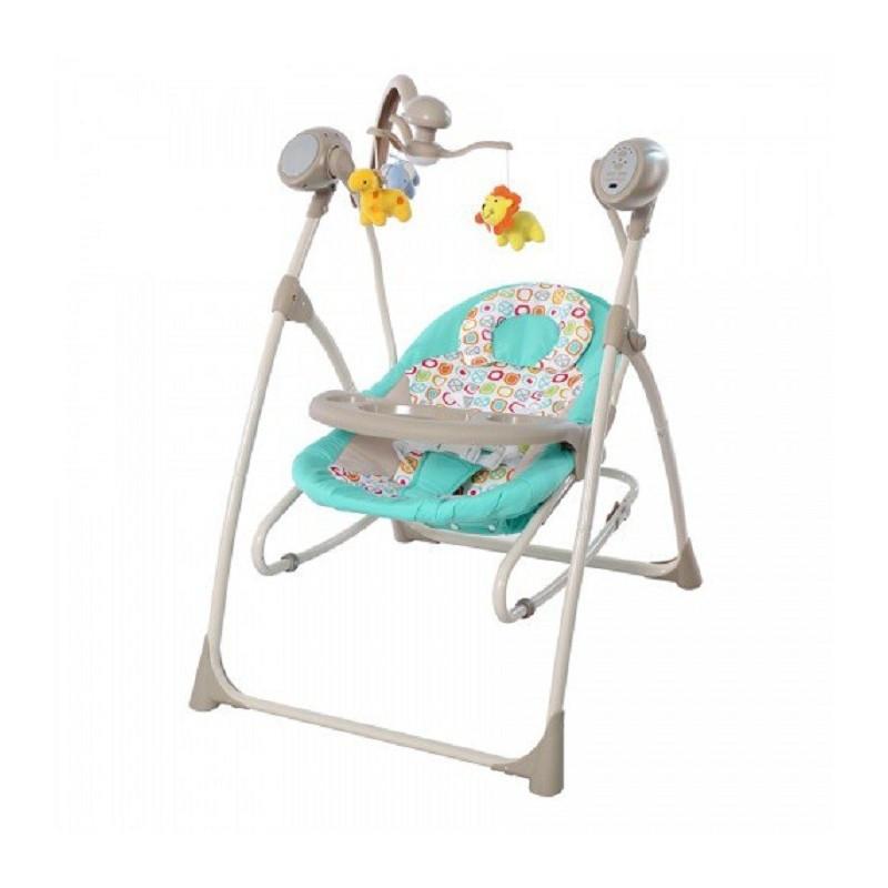 Детское кресло - качалка шезлонг BT-SC-0005 TURQUOISE