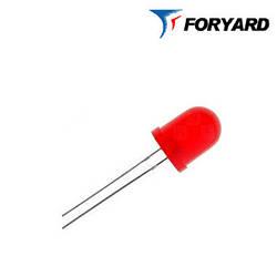 Светодиод красный 8mm. FYL8003 HD (700nm. красный; 30mcd,60°) круглый, диффузный 20° FORYARD