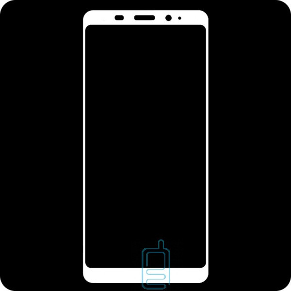 Защитное стекло Full Screen Meizu M6 white тех.пакет