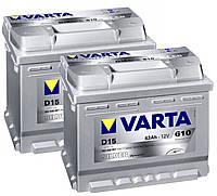 Аккумулятор Varta SILVER dynamic 563400061 D15 63 А/ч