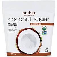 Nutiva, Органический кокосовый сахар,  1 фунт (454 г)