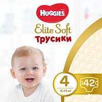 Huggies Трусики-подгузники Elite Soft Pants L, размер 4 (9-14кг), 42шт