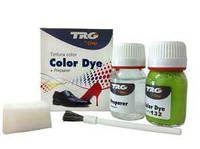 Глянцевая краска для кожи и обуви Trg Color Dye Double 102 (Темно-фиолетовый)