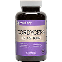 MRM, Кордицепс, штамм CS-4, 60 растительных капсул
