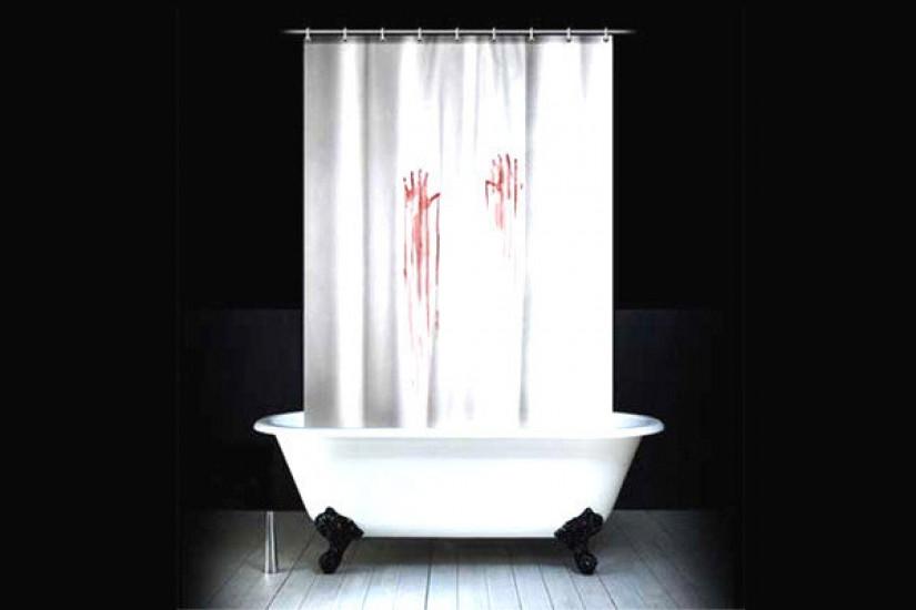 Шторка для ванной Фильм ужасов 104121