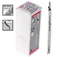 Пилка для лобзика Bosch T 345 XF, BIM 100 шт/упак.