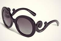 Модные женские солнцезащитные Очки Prada Minimal Baroque сонцезахисні окуляри на 8 марта