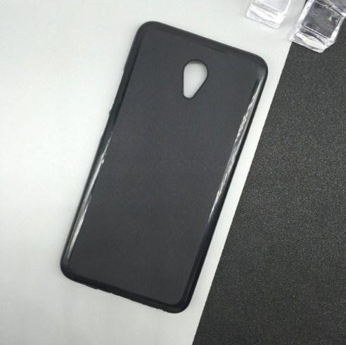Силиконовый чехол Meizu M5C черный