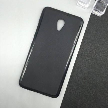 Силиконовый чехол Meizu M5C черный, фото 2