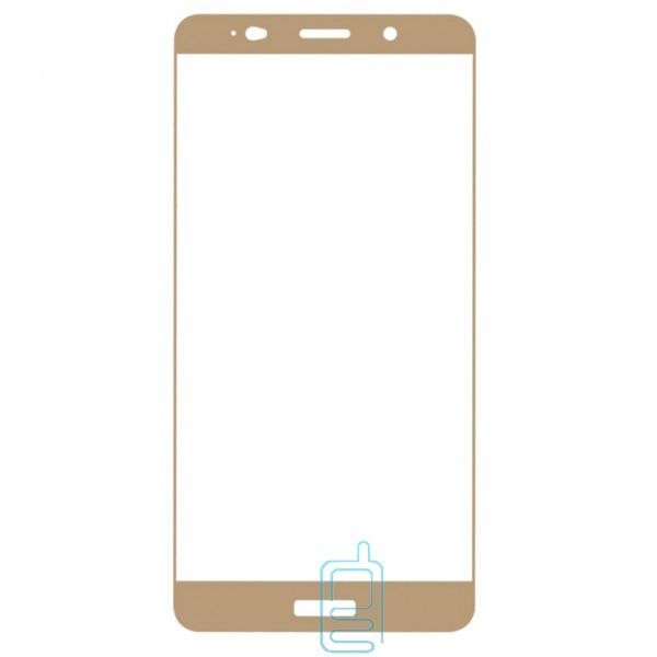 Защитное стекло Full Screen Huawei Mate 10 Pro gold тех.пакет