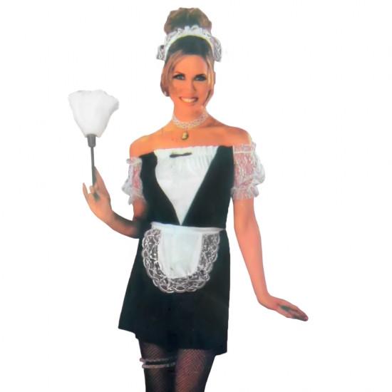 Взрослый карнавальный костюм Горничная 109949