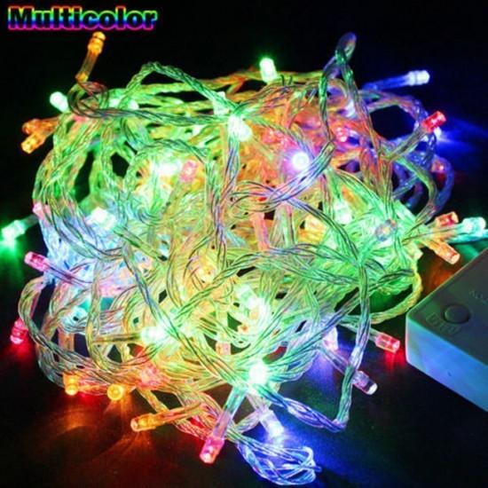 Гирлянда светодиодная LED 200 мультиколор 110952