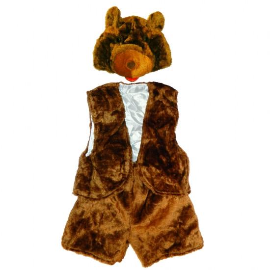 Детский костюм меховой Медведь 111360
