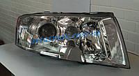 Фара передняя для Skoda Superb '02-08 правая (DEPO) Н7+Н3+Н3