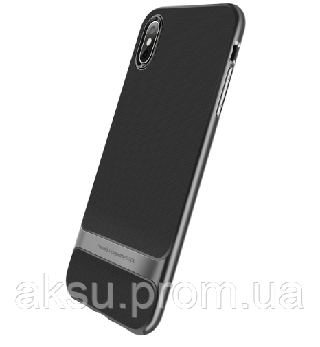 Чехол для iPhone Xs Max Rock Royce (Iron Gray)