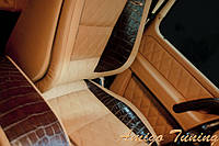 Mercedes g55 gold & leather