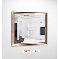 Дзеркало квадратне з фацетом Естель B02-F БЦ-Стол, фото 1
