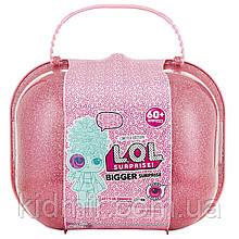 Лол сюрприз с куклами Лол в чемодане декодер 60 сюрпризов L.O.L lol Surprise! Bigger