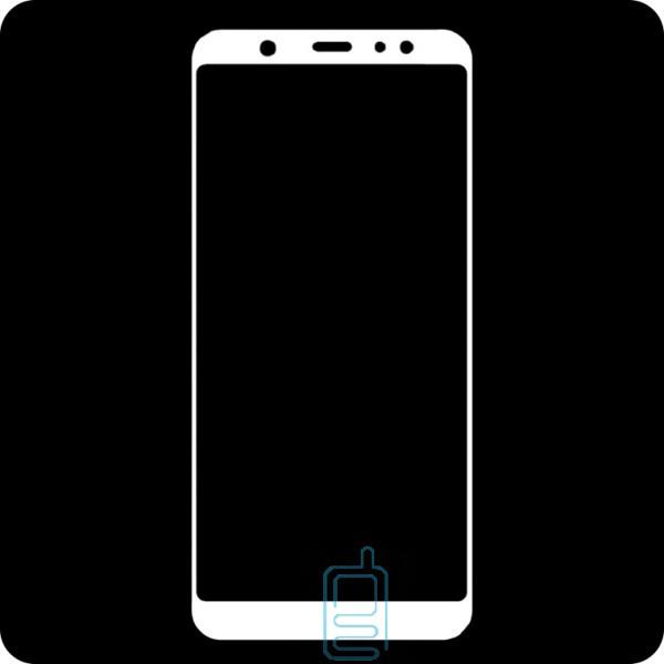 Защитное стекло Full Screen Samsung A6 Plus 2018 A605 white тех.пакет