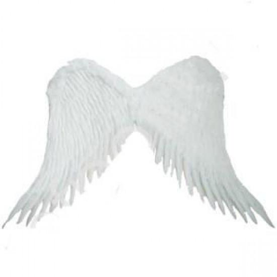 Крылья Амура большие 55х55см (белые) 115788
