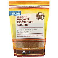 Big Tree Farms, Органический коричневый кокосовый сахар, 1 фунт (454 г)