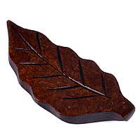 Подставка под палочки для суши Листок, деревянная